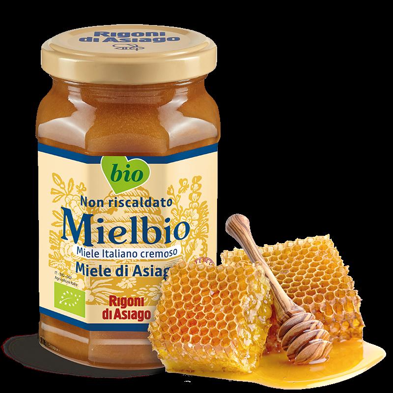 Honing uit Asiago (romig)