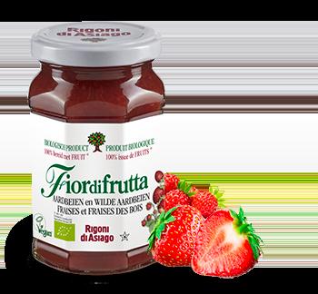 Aardbeien en bosaardbeien